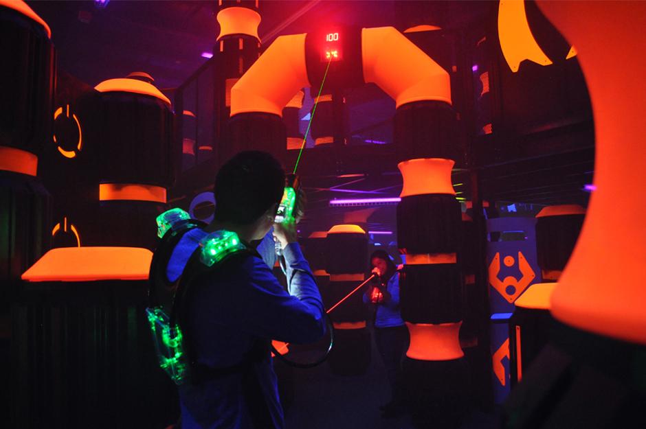 Laserdome Aktionscenter