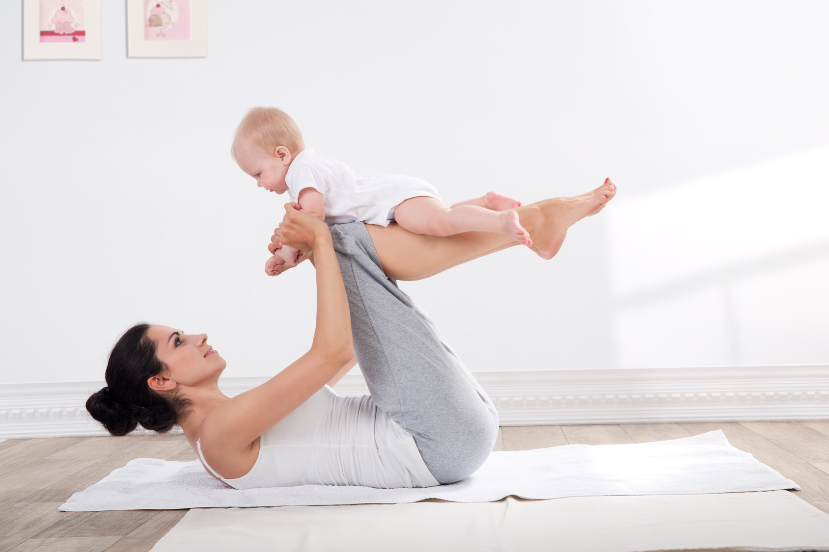 träning för nyblivna mammor blogg